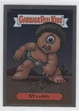2003 Topps Garbage Pail Kids All-New Series 1 - Foil Stickers - Silver #20a - Sy Clops