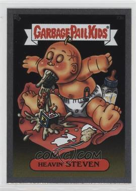 2003 Topps Garbage Pail Kids All-New Series 1 - Foil Stickers - Silver #23b - Heavin' Steven