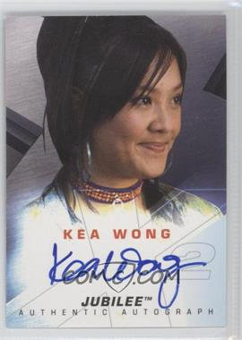 2003 Topps X-Men 2: United - Authentic Autographs #KWJU - Kea Wong as Jubilee