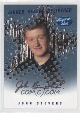 2004 Fleer American Idol: Season 3 - Signed. Sealed Delivered Autographs #SSD-JS - John Stevens