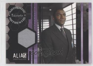 2004 Inkworks Alias Season 3 - Pieceworks #PW8 - Carl Lumbly as Marcus Dixon