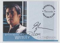 Byron Mann as Wesley