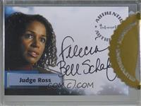 Felecia Bell-Schafer as Judge Abigail Ross [Uncirculated]