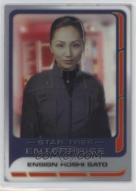 2004 Rittenhouse Star Trek: Enterprise Season 3 - Enterprise Crew #CC5 - Linda Park as Ensign Hoshi Sato