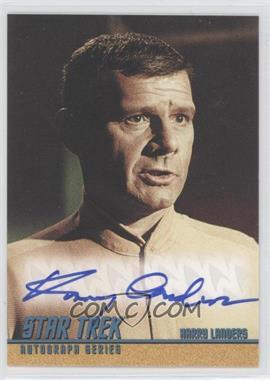 """2004 Rittenhouse The """"Quotable"""" Star Trek Original Series - Autographs #A92 - Harry Landers as Dr. Coleman"""
