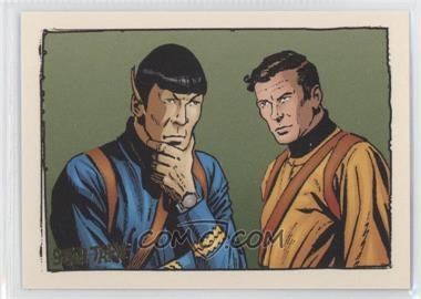 "2004 Rittenhouse The ""Quotable"" Star Trek Original Series - Comics #GK6 - When Planets Collide"