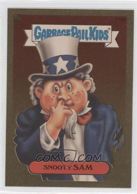 2004 Topps Garbage Pail Kids All-New Series 2 - [???] #F12a - Snooty Sam