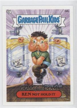 2004 Topps Garbage Pail Kids All-New Series 2 - [???] #S6b - Ken Not Hold It