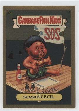 2004 Topps Garbage Pail Kids All-New Series 3 - [???] #5a - Seasick Cecil