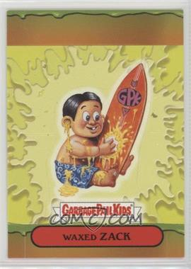 2004 Topps Garbage Pail Kids All-New Series 3 - Pop-Ups #9 - Waxed Zack