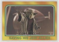 Saving his Jedi allies
