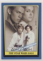 The Star Wars Saga (Checklist Back)