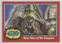 Boss Nass of the Gungans