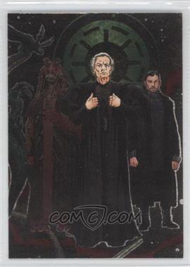 2004 Topps Star Wars Heritage - Etched Foil Group 2 #1 - Senator Palpatine