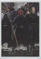 Emperor Palpatine, Darth Maul, Count Dooku