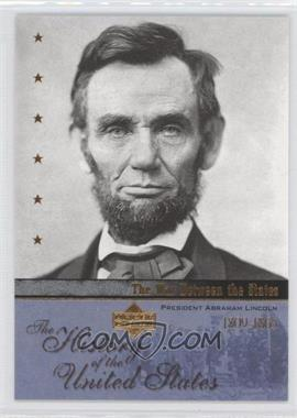 2004 Upper Deck The History of the United States - [Base] #WS1 - The War Between the States - President Abraham Lincoln