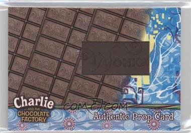 2005 Artbox Charlie and the Chocolate Factory - Prop Relics #N/A - [Missing] /490