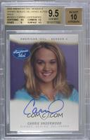 Carrie Underwood /25 [BGS 9.5 GEM MINT]