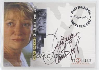 2005 Inkworks The X Files: Connections - Autographs #A-11 - Veronica Cartwright as Cassandra Spender
