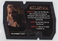 Number Six/Dr. Gaius Baltar