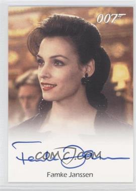 2005 Rittenhouse James Bond: Dangerous Liaisons - Full-Bleed Autographs #NoN - Famke Janssen as Xenia Onatopp (Goldeneye)