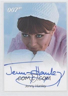 2005 Rittenhouse James Bond: Dangerous Liaisons - Full-Bleed Autographs #NoN - Jenny Hanley as The Irish Girl (On Her Majesty's Secret Service)