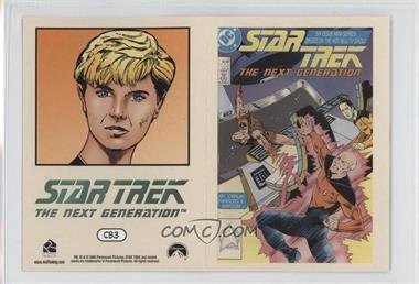 "2005 Rittenhouse The ""Quotable"" Star Trek: The Next Generation - Comic Books #CB3 - Tasha Yar"