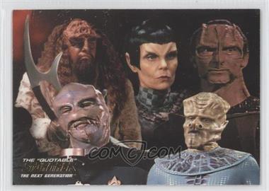 "2005 Rittenhouse The ""Quotable"" Star Trek: The Next Generation - Space: The Final Frontier #ST9 - Lt. Commander Data, Commander William Riker"
