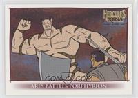 Ares Battles Porphyrion