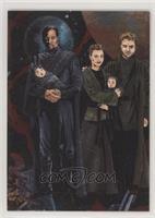 Bail Organa, Princess Leia, Beru Lars, Luke Skywalker, Owen Lars