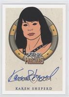 Karen Sheperd as the Animated Enforcer