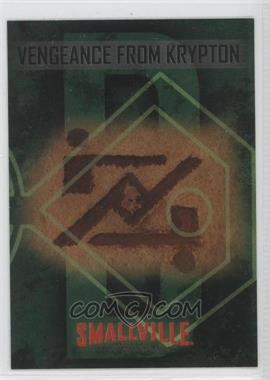 2006-07 Inkworks Smallville Season 5 - Vengeance from Krypton #BL.3 - Zod