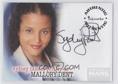 2006 Inkworks Veronica Mars Season 1 - Autographs #A-11 - Sydney Tamiia Poitier as Mallory Dent