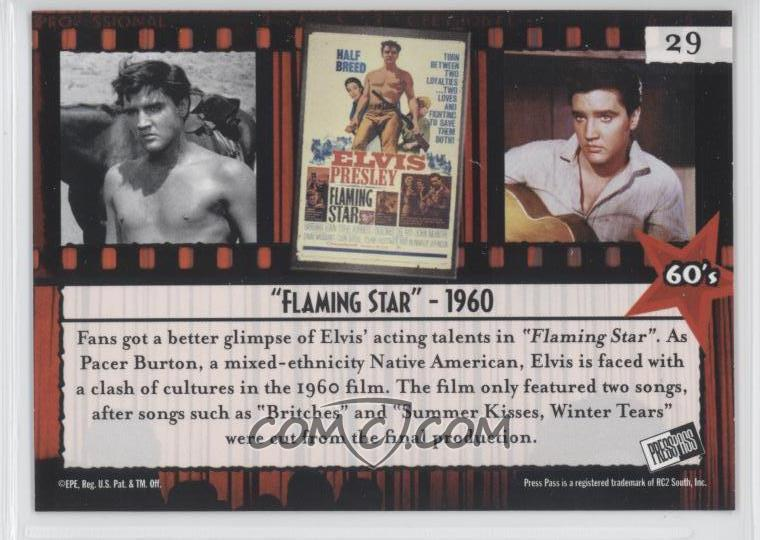 2006 Press Pass Elvis Lives - [Base] #29 - 60's -