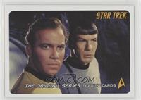 Captain Kirk, Spock
