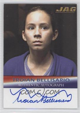 2006 TK Legacy JAG Premiere Edition - Signature Series Autographs #A16 - Troian Bellisario