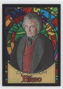 2006 Topps Lord of the Rings Evolution - Stained Glass #S2 - Bilbo Baggins