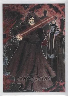 2006 Topps Star Wars Evolution Update Edition - Etched Foil #5 - Emperor Palpatine