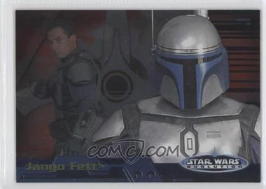2006 Topps Star Wars Evolution Update Edition - Evolution A #11A - Jango Fett
