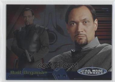 2006 Topps Star Wars Evolution Update Edition - Evolution A #2A - Bail Organa