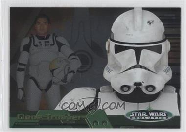 2006 Topps Star Wars Evolution Update Edition - Evolution B #4B - Clone Trooper