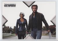 Movie Action - Storm, Wolverine