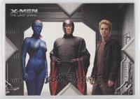 Movie Action - Mystique, Magneto, Pyro