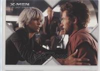 Movie Action - Storm, Wolverine, Professor X