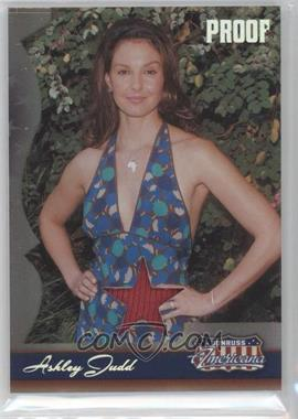 2007 Donruss Americana - [Base] - Silver Proof Stars Materials [Memorabilia] #100 - Ashley Judd /50