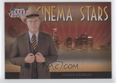 2007 Donruss Americana - Cinema Stars #CS-20 - Larry Hagman /500