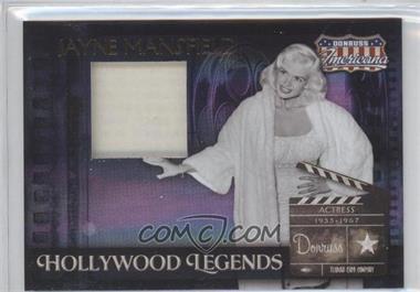 2007 Donruss Americana - Hollywood Legends - Materials [Memorabilia] #HL-6 - Jayne Mansfield /325