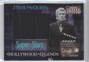 2007 Donruss Americana - Hollywood Legends - Super Stars Materials [Memorabilia] #HL-10 - Steve McQueen /25