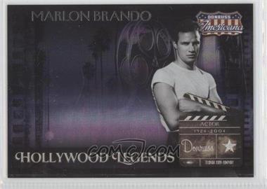 2007 Donruss Americana - Hollywood Legends #HL-28 - Marlon Brando /500