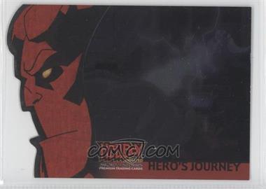 2007 Inkworks Hellboy Animated Sword of Storms - Hero's Journey #H5 - Blasted by Demonic Power